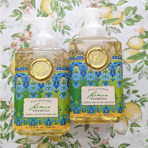 2 Michel Design Works Lemon Verbena Foaming Hand Soap