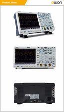 OWON XDS3102A Oszilloskop 100MHz 2 Kanal 12bit Opt. Touch Multimeter Generator
