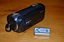 Cámara De Video Sony HDR-CX240 - Negro