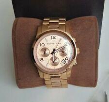 Michael Kors Runway Rose Gold Chronograph Ladies Watch MK5128