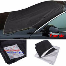 Car SUV Magnet Windshield Cover Sun Shield Snow Frost Freeze Protector Black AB