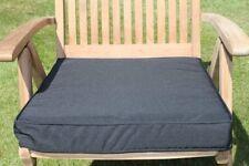 Coussin pour grand fauteuil de jardin, coloris noir