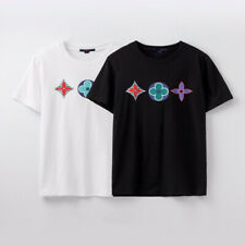 20ss Unisex old flower Crew Neck Basic TEE T-Shirt top shirt Blouse