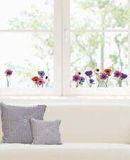Fenstersticker Anemonen Blüten Blumen Pflanzen Aufkleber Homesticker Sticker