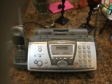 Panasonic Paper Fax with 2.4Ghz Cordless Phone