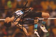Athletics: Zhang Guowei Signed 6x4 Action Photo+Coa *Rio 2016* *China*