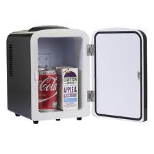 iceQ 4 Litre Portable Small Mini Fridge For Bedroom, Mini Cooler, Warmer Black