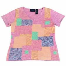 New listing Vintage Color-block Sweater Tee Shirt S