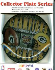 Green Bay Packers 1997 Super Bowl Hunter Collector Plate 4176M