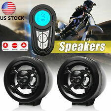 Motorcycle USB bluetooth Stereo Speakers MP3 Audio FM Radio Sound Security