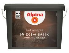 Alpina Rost-Optik Effekt-Farbe für Innen Komplett-Set, Reichweite ca. 10-12 m²