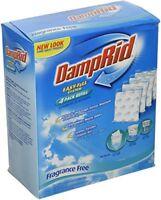 4 Pack Damprid Refillable Moisture Remover Dehumidifier
