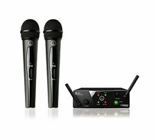 AKG WMS40MINIDUALHT Dual Wireless Handheld Microphone System