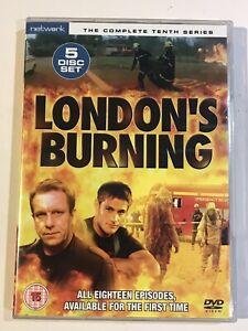 LONDON'S BURNING THE COMPLETE SERIES 10 SEASON TEN TENTH DVD BOXSET