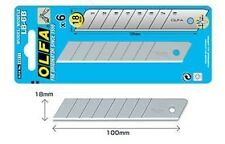 OLFA 18MM TRIMMING KNIFE BLADES - 6 X 6 PACK (36 BLADES)