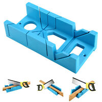 Mitre Saw Box Woodworking Clamping Hand Mitre Box Slot Type for Metal Process