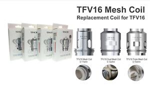 SMOK TFV16 Cloud BEAST KING Tank Coils - Lite | Dual | Triple | Mesh | Conical