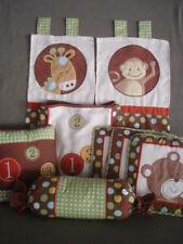 N125 Nursery Bedding Set 9 Piece Set Geenny Baby Animal Scholar ABC 123