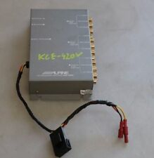 Genuine Alpine KCE-420V Video/Audio Stereo Switcher Selector 4:2