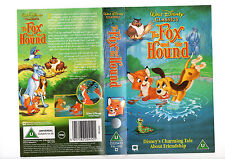 WALT DISNEY CLASSICS THE FOX AND THE HOUND----VHS COVER ONLY--RARE VHS SLEEVES--