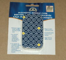 "DMC Blue & Yellow ""Magnetic Needle Case"" NIP"