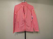 NWT Marmot Womens Stretch Fleece Full Zip Jacket-Color-Melon Blush-Size-XL