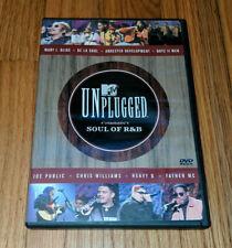 MTV Unplugged - Soul of RB (DVD, 2000) Heavy D Boyz II Men Mary J. Blige Father