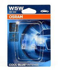 OSRAM w5w halógenas cool blue intense luz de estacionamiento 2er set 4000k + + precio especial + +