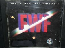 EWF THE BEST OF EARTH, WIND & FIRE VOL. II CD ALBUM RARE COLLECTIBLE