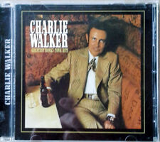 CHARLIE WALKER - GREATEST HONKY TONK HITS - AUDIUM CD - 2003 - 21 TRACKS