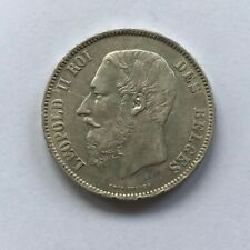 5 F 1868  LEOPOLD II