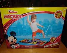 Disney Mickey Mouse Musical Mat Electronic Interactive Floor Piano NEW in Box