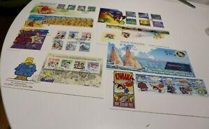 1994 NEW ZEALAND NZ FDC COVERS x 8 MAORI MYTHS, CRICKET,KIWIANA,HEALTH,YACHT RAC