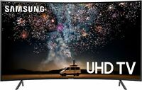 "Samsung Curved Smart TV 65"" 4K UHD  with HDR and Alexa Compatibility"
