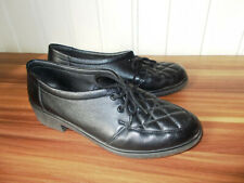 Chaussures basse derby mocassin à lacets cuir noir ROHDE 6 39 devant surpiqué