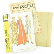 McCalls Women's Robe Carefree Sewing Pattern 4303 Size 20 Uncut FF Vintage 1974