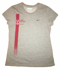 Nike Fit Dry Team USA House Olympic Beijing 2008 Womens Gray Red T Shirt Sz XL