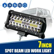 7inch 60W LED Work Light Bar Spot Beam Offroad 4WD Truck Driving Fog Pod Lamp 6""