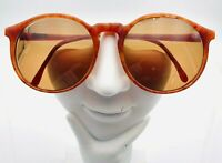 Vintage Polo Brown Round Sunglasses France FRAMES ONLY