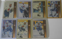 1994-95 Upper Deck UD SP Inserts Quebec Nordiques Team Set 7 Hockey Cards