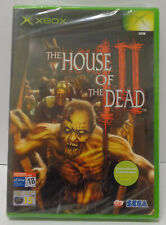 Game Console Gioco Microsoft XBOX PAL ITALIANO - The House of the Dead III 3 -