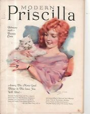 1926 Modern Priscilla February - J Knowles Hare; alphabets for monograms;
