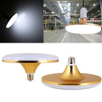 LED Projecteur UFO rond Ampoule E27 15W/18W/24W/36W/50W/60W Brillant lampe 220V