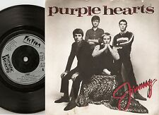 PURPLE HEARTS JIMMY & WHAT AM I GONNA DO 45+PS 1980 MOD REVIVAL THE JAM THE WHO