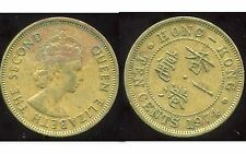 HONG KONG  10 ten cents 1974   ( british colony )