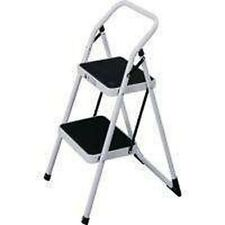 NEW 200LB 2 STEP STEEL FOLDING HOUSEHOLD STEP STOOL 1826234