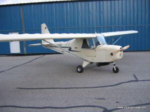 Sparrow Ultralight Carlton Airplane Desk Wood Model Small New