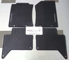 Toyota Tacoma Double Cab Factory All Weather Rubber Floor Mats Genuine OEM OE