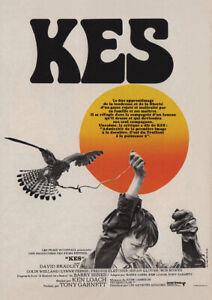 KES 1969 Ken Loach, David Bradley - Movie Cinema Poster Restored Film Art Print