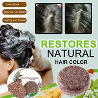 Hair Darkening Shampoo Bar - 100% Natural Organic Conditioner and Repair Care